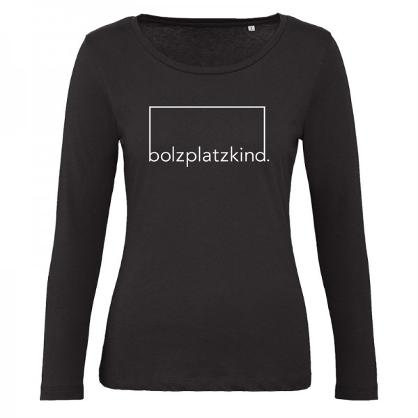 "Bolzplatzkind ""Jubel"" Longsleeve Damen"