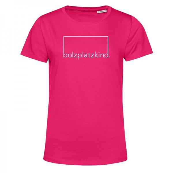 """Bolzplatzkind """"Geduld"""" T-Shirt Damen"""