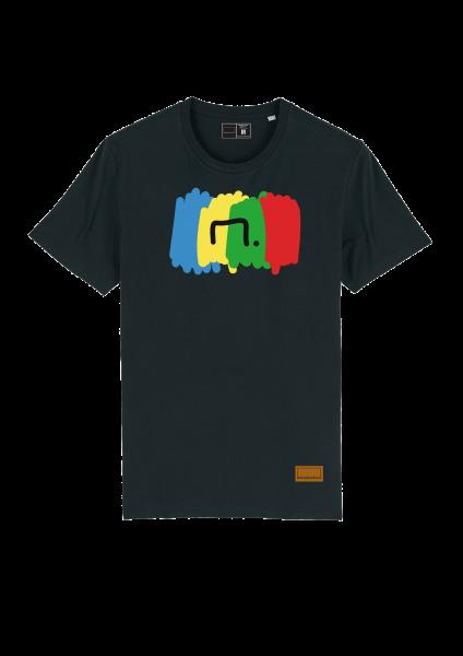 "Herren Bolzplatzkind ""Free"" Vielfalt T-Shirt"